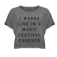 Could you just imagine? Shop the top here: http://shop.nylonmag.com/collections/whats-new/products/festival-lifestyle-crop-top