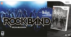 Amazon.com: Wii The Beatles: Rock Band Limited Edition Premium Bundle: Nintendo Wii: Beatles: Rock Band, Game: Video Games
