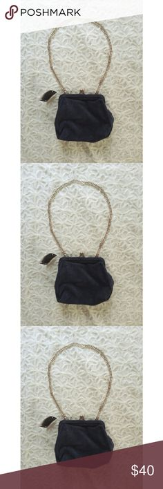 """{urban outfitters} suede kiss lock bag Brand new with tags darling little blue suede kiss lock bag from Urban Outfitters  Brand is Kimchi Blue  Soft and slouchy with hinge kiss lock closure and chain strap to make this oh so sweet. Finished with soft cotton lining and one slip pocket inside.  Spot clean  7"""" x 3"""" x 7.5"""" with a 13"""" strap drop  Retails for $49. Tag is wrinkled. Urban Outfitters Bags Shoulder Bags"""
