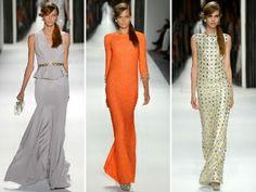 Packham SS 2013 RTW--gray dress w peplum and sparkly belt