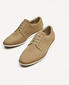64bad4e9f24a Image 7 of EMBOSSED LEATHER SHOE from Zara Leather Shoes