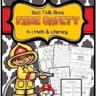 Let's Talk About Fire Safety!   The month of October is Fire Safety and Prevention Month.    The activities in this pack are a great supplement to your fire safety lessons. Activities can be used as a whole group, in centers, morning work, or for homework.   21 pages--fantastic for Kindergarten & first grade   $3.00