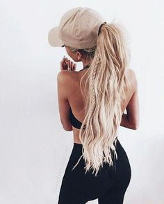 cute pony + braid look for a cute + casual everyday look at work, home, school or the gym | hairstyle, hair inspiration, everyday, bayalage, balayage, easy, diy ideas, casual, minimalist, minimalism, minimal, simplistic, simple, modern, contemporary, classic, classy, chic, girly, fun, clean aesthetic, bright, pursue pretty, style, neutral color palette, inspiration, inspirational, diy ideas, fresh, stylish,