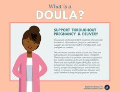 Doulas are professional birth coaches who provide support during pregnancy, childbirth, and the postpartum period. Medical Field, Medical Care, Doula Training, Doula Business, Mental Support, Birth Doula, Pediatric Nursing, Pregnancy Health, School Essentials