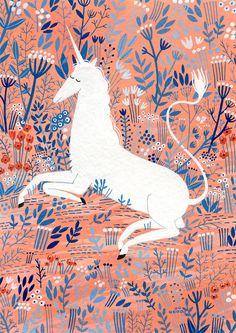 Unicornio (impresión)