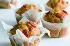 Muffiny s uzeným | Apetitonline.cz Fresh Rolls, Bon Appetit, Guacamole, Potato Salad, Pizza, Tacos, Goodies, Food And Drink, Mexican