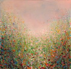 "Saatchi Art Artist: Sandy Dooley; Acrylic 2012 Painting ""Meadow (sold)"""