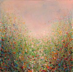 "Saatchi Art Artist: Sandy Dooley; Acrylic 2012 Painting ""Meadow (sold)"""