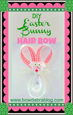 How to Make a Bunny Hair Bow