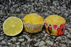 Lime and coco muffins http://platoprohibido.blogspot.com.es/
