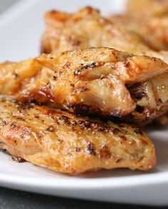 Lemon Pepper Wings | Bring The Takeout Home With These Four Easy Ways To Make Baked Chicken Wings