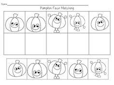 Pumpkin Pre-K and Kindergarten Mini Unit - add math facts or sight words to the pumpkins.