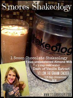 S'mores Shakeology, Shakeology, Chocolate Shakeology