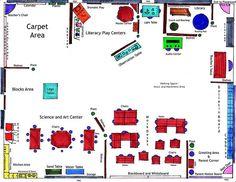 Floor Plan For Pre Clroom   Kindergarten Classroom Layout I Wish My Classroom Was This Big One