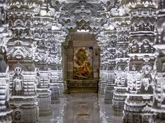 SwaminarayanAkshardham(Devnagari: स्वामिनारायण अक्षरधाम) in Robbinsville, New Jerseyis a spiritual-cultural complex. The mandir, one component of the complex, was inaugurated and opened to the public on 10 August 2014.Future plans for the complex include the Swaminarayan Akshardham Mahamandir and a visitor's center, which will house an exhibition on Indian history and culture #newjersey#swaminarayanakshardham#indianhistory#culture#sculpture#carving