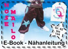 "Ebook ""Hose MAILO"" Gr. 62 - 134 Schnittmuster"