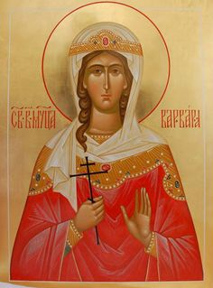St. Barbara the Greatmartyr Whispers of an Immortalist: Icons of Martyrs 2