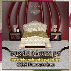 Castle Of Scraps: Background Bedroom