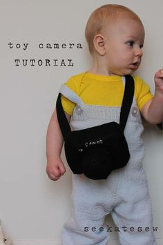 Toy camera tutorial...so cute but of course mine would have to say NIKON not canon!