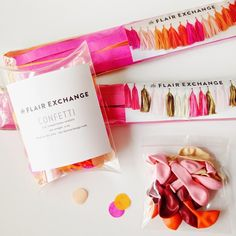 COLOR INSPIRATION | Pink + Orange Sherbet + Gold #confetti #miniballoons #tissuetasselgarland