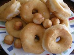Cooked Doughnuts, Ready For Topping