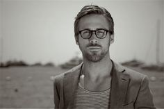 "Ryan Gosling in ""The One With the Hipster Glasses"""
