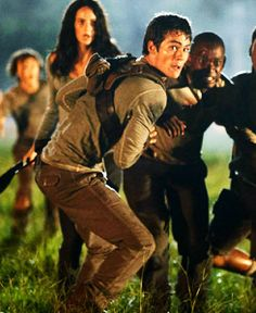 The Maze Runner   Book series by James Dashner   Can this movie just hurry up please? C: