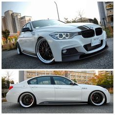 335i...white and striped. Classy with that hint of I can whip your butt so don't even bother !