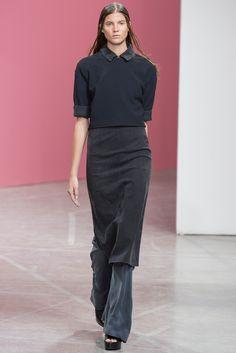 Theyskens' Theory Spring 2014 Ready-to-Wear Fashion Show - Estee Rammant