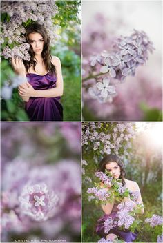 Lovely Lilac Photoshoot - Graduation Inspiational - Cristal King Photography