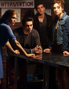 Just a normal teen wolf meeting