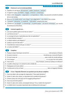 Vocabulaire Progressif du Français : Claire Miquel : Free Download, Borrow, and Streaming : Internet Archive Fable, Free Download, Internet, Image, Biography, Vocabulary, Exercises