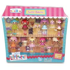 "Mini Lalaloopsy Sugar and Spice - MGA Entertainment - Toys""R""Us 2 Choco Whirl-N-Swirl, 3 Fancy Dunk-N-Crumble Minis, Lalaloopsy Mini, Sweet Bakery, Pet News, Barbie Party, Dolls For Sale, Toys R Us, Princesas Disney, Sugar And Spice"