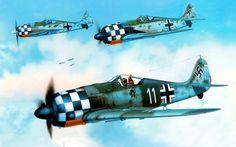Focke Wulf 190 A6.