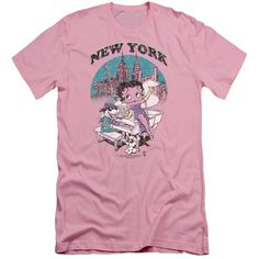Boop/Singing in Ny Short Sleeve Adult T-Shirt 30/1 in