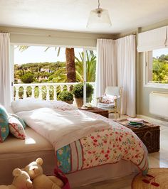 bedroom with a view cachemir decoracin