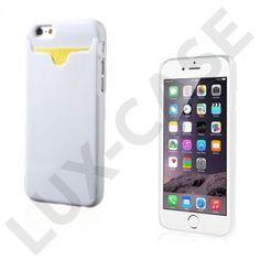 Waltari (Hvid) iPhone 6 Kortholder Cover