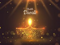 Indian Lamps, Birthday Wishes For Women, Happy Diwali Wishes Images, Shubh Diwali, Festival Background, Background Design Vector, Vector Free Download, Indian Festivals, Religious Art