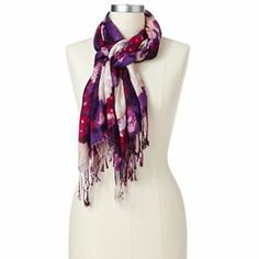 Apt. 9 Winter Bloom Scarf