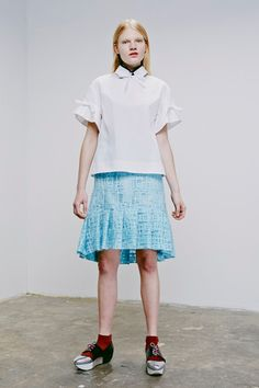 Eudon Choi Resort 2015 Collection Slideshow on Style.com