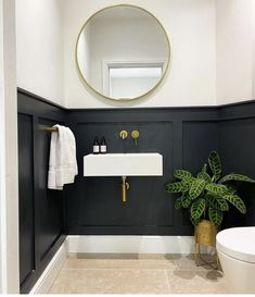 I Have Been Waiting, Downstairs Loo, Bathroom Interior Design, Building A House, Doors, Mirror, Furniture, Bathroom Ideas, Bathrooms
