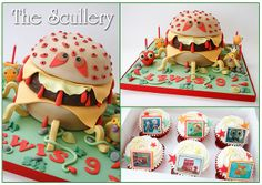 Cheespider from 'Cloudy with a Chance of Meatballs 2' :-) by The Scullery (Louise), via Flickr