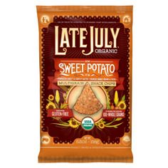 late july sweet potato chips with pumpkin salsa....delicious!
