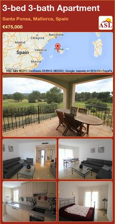 Apartment for Sale in Santa Ponsa, Mallorca, Spain with 3 bedrooms, 3 bathrooms - A Spanish Life