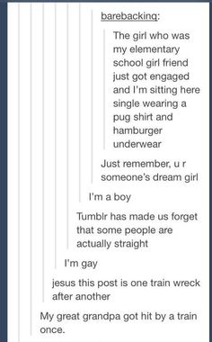 Tumblr Logic can be beautiful, but it can also be as fearsome and dangerous as a giraffe.