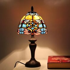 Dragonfly Beach Tiffany Desk Lamp for Children