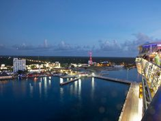 Oasis of the Seas saying goodnight to Cozumel, Mexico. #cruise