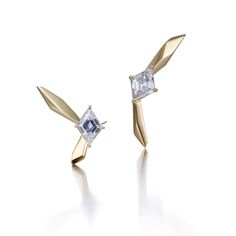 ㅣCYE DesignsㅣDiamond Wing Earrings