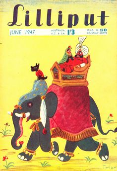 Lilliput magazine, June 1947 (Cover by Walter Trier)