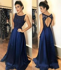 Scoop Neck Beaded Prom Dress,Backless Beads Crystal Party Gowns ,Sleeveless Party Dress,Long Evening on Luulla Elegant Bridesmaid Dresses, Backless Prom Dresses, A Line Prom Dresses, Formal Dresses For Women, Cheap Prom Dresses, Elegant Dresses, Homecoming Dresses, Evening Dresses, Dress Formal